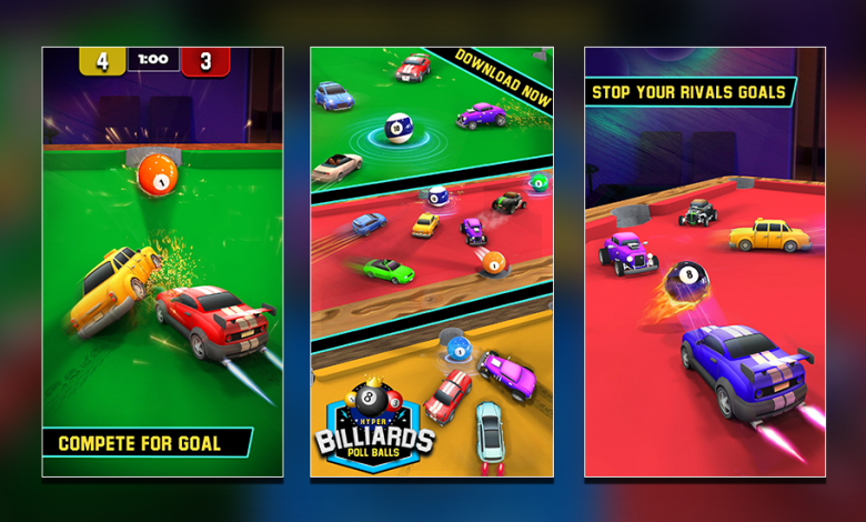 Are You Ready to Win the Pool Table Car Soccer?