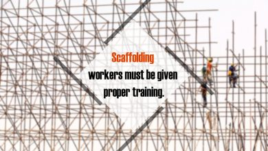Photo of Scaffolding workers must be given proper training