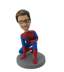Spiderman bobblehead dolls inspire success and personal development of leaders