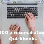 undo a reconciliation in Quickbooks online