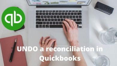 Photo of How to Undo a reconciliation in QuickBooks online?