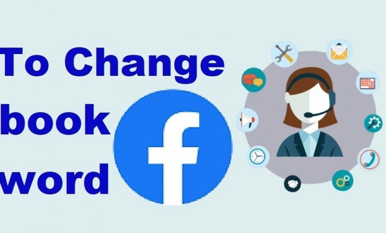 change facebook password