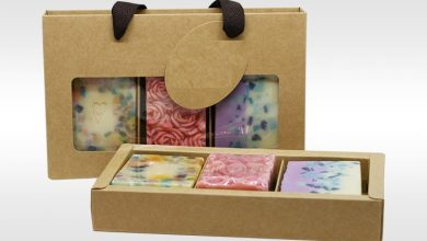 Photo of Embossing and Custom Printed Soap Boxes