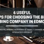 best plumbing company in Edmonton