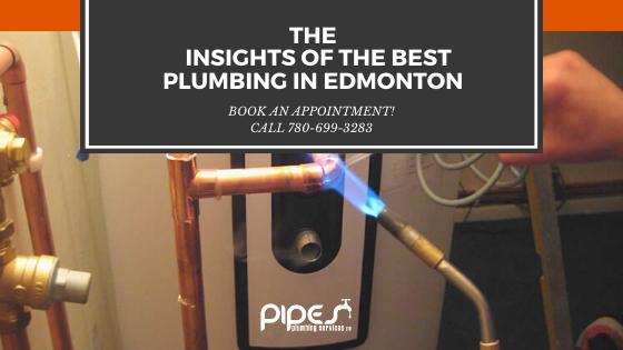 best plumbing in Edmonton