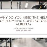plumbing contractors Alberta