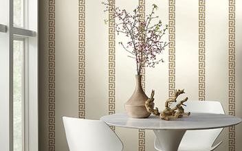 Photo of Give your walls a glamorous look with white wallpaper