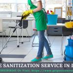 Home Sanitization Service in Delhi