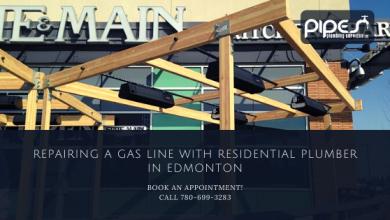 Photo of Repairing a Gas Line With Residential Plumber in Edmonton
