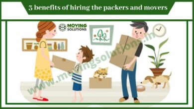 Photo of 3 benefits of hiring the packers and movers