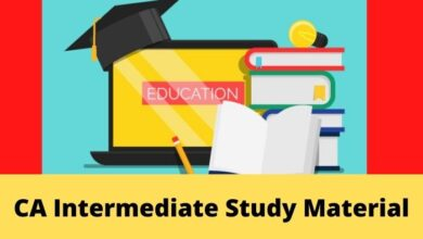 Photo of Download ICAI CA Intermediate Study Material Now-PDF in English and Hindi
