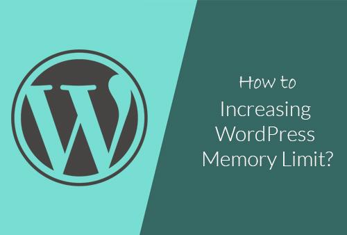 Increasing-wordpress-memory