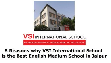 Photo of 8 Reasons why VSI International School is the Best English Medium School in Jaipur
