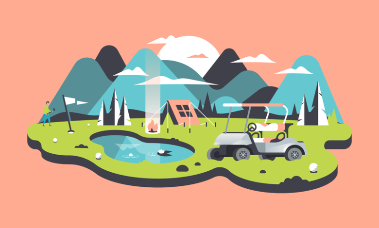 camp golf