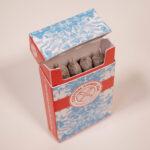 designed cigarette box