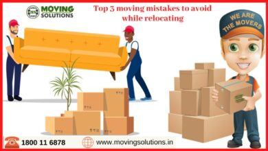 Photo of Top 3 moving mistakes to avoid while relocating