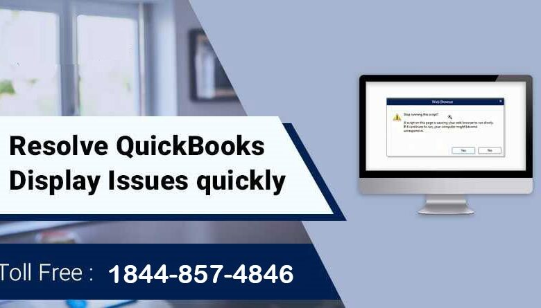 QuickBooks-display-Issue
