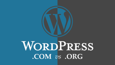 Photo of WordPress Vs WordPress.Org