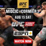 UFC 252 Live