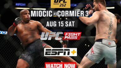 Photo of LIVE UFC 252: Miocic vs. Cormier 3 is an upcoming Fight Info