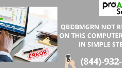 Photo of QBDBMGRN not running on this computer-Solved in Simple Steps