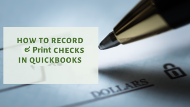 Photo of How do I Record and print Checks in QuickBooks?