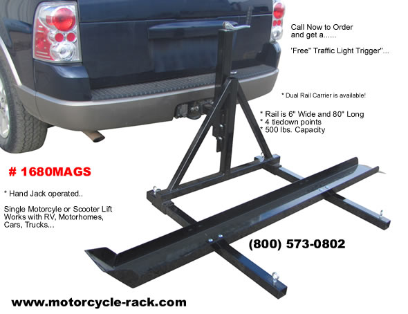 What to Consider Prior Installing a Motorcycle Carrier