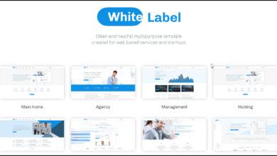 Photo of White Label WordPress Theme