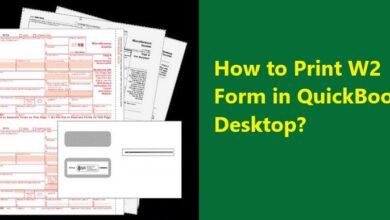 Photo of How to print W-2 forms with the QuickBooks Desktop?