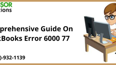 Photo of A Comprehensive Guide On QuickBooks Error 6000 77