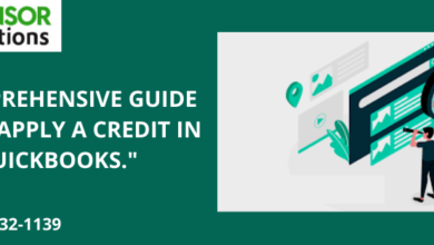 "Photo of A Comprehensive Guide On ""Unapply A Credit In QuickBooks."""