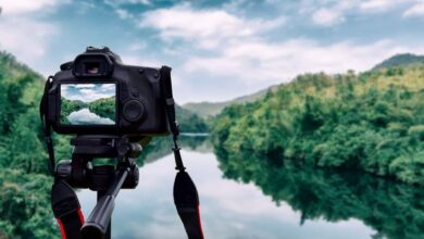 Photo of DSLR Camera with Wi-Fi