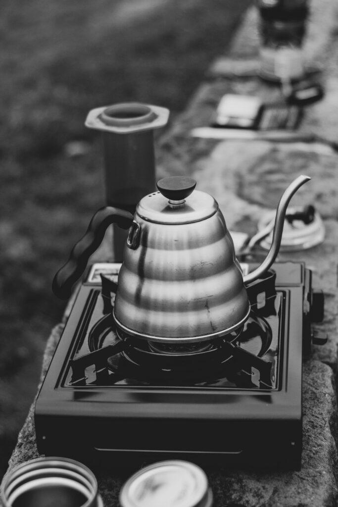 Use & Clear A Tea Kettle