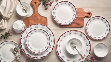 Photo of Make Diwali special meals in the Larah Dinnerware and Tableware Collection by Borosil