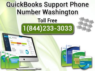 Quickbooks Support Phone Number Washington