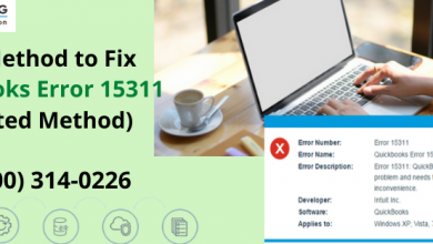Photo of Easy Method to Fix QuickBooks Error code 15311 (Updated Method)
