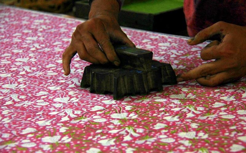 Hand Block Printing Gujarat
