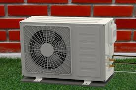 Photo of AC Outdoor Unit in Sunlight