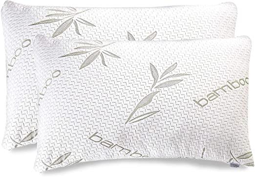 Memory Foam-Kissen bieten dem Schläfer eine gute Unterstützung für Nacken und Rücken. Kissen mit Bambusfasern oder Bambuskissen sind bei Ärzten sehr beliebt.