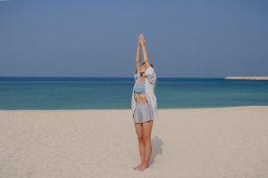 Surya Namaskar Yoga Pose