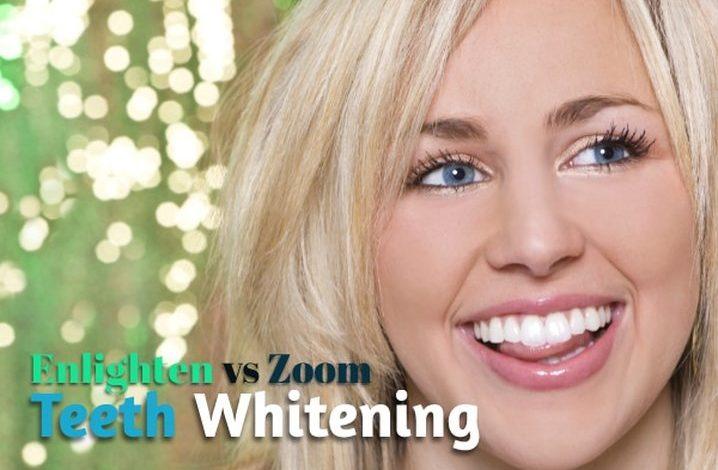 Enlighten and Zoom Teeth Whitening
