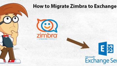 Photo of A Five-Step Direct Solution to Migrate Mailbox from Zimbra to Exchange