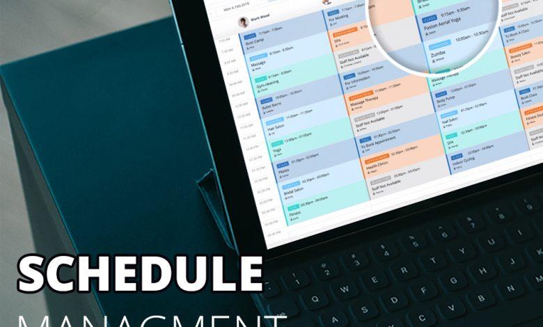 Schedule Management Software