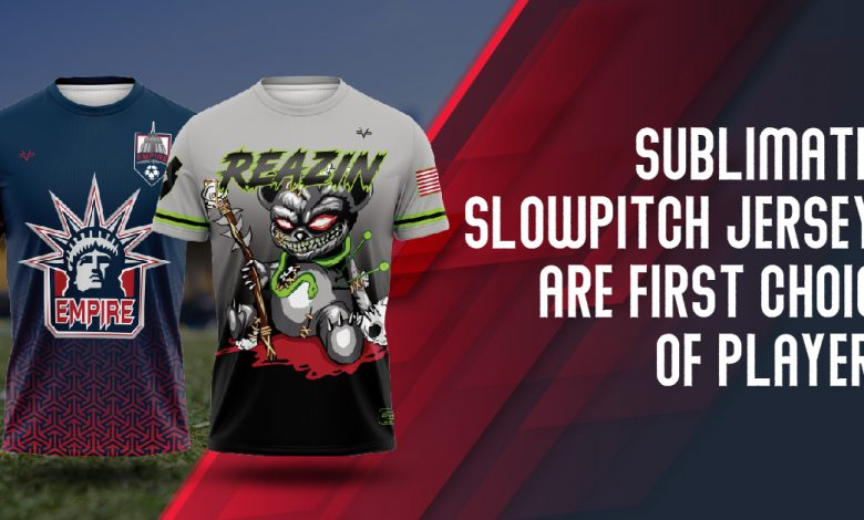 Sublimated Slowpitch Jerseys are the First Choice of Players