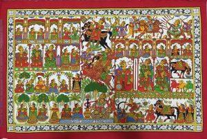 Phad paintings of Rajasthan