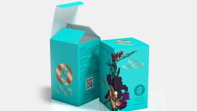 Photo of Customers are attracted to professional packaging of the brand logo