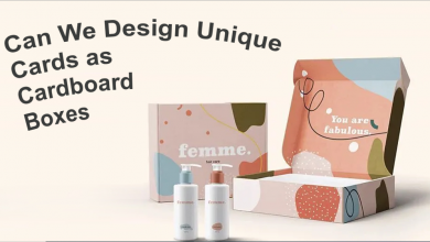 Photo of Can We Design Unique Cards as Cardboard Boxes