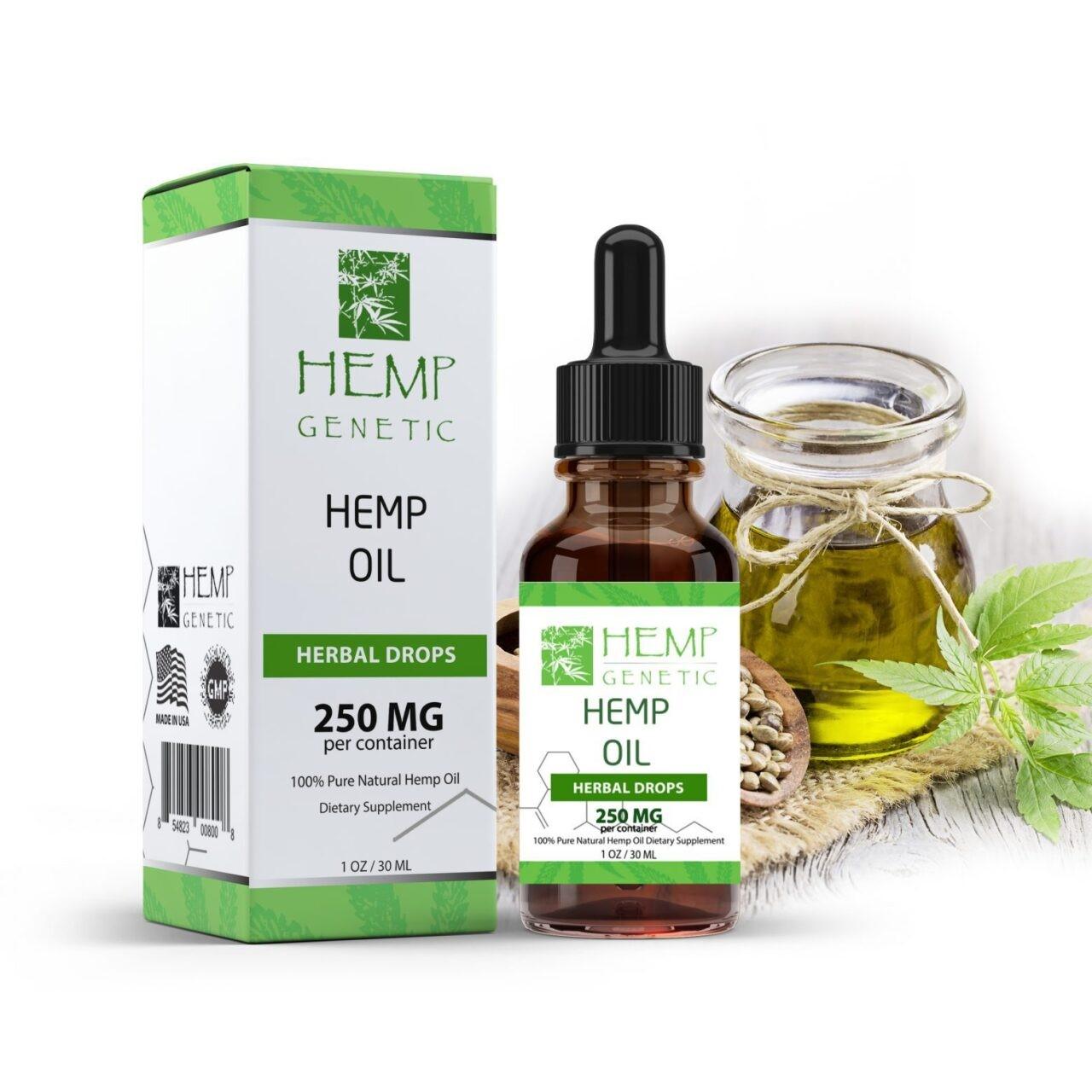 hemp oil boxes