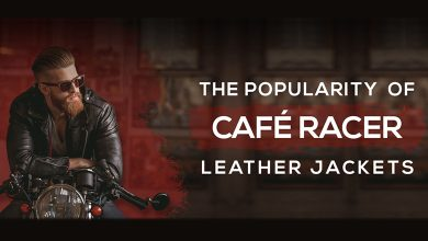 Photo of THE POPULARITY OF CAFÉ RACER LEATHER JACKETS