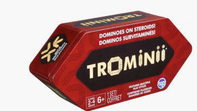 Photo of Trominii The 3Dimensional Dominoes Game Rules